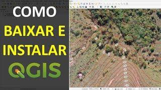 Gambar cover Como fazer o Download e Instalar o Software QGIS | Tutorial
