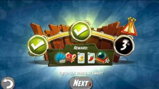 Beat The Daily Challenge King Pig Panic Completed in Angry Birds 2