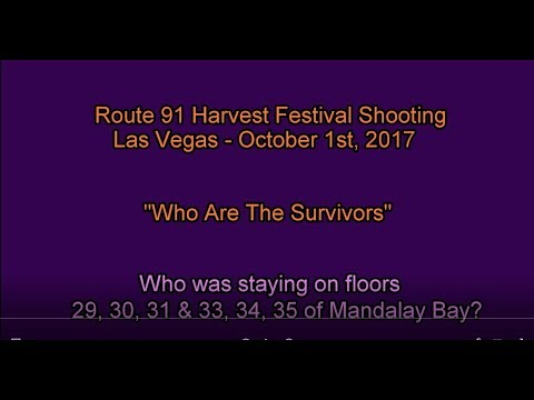 """Las Vegas Survivors Series"" - Who was Staying on the Floors Surrounding Floor 32?"