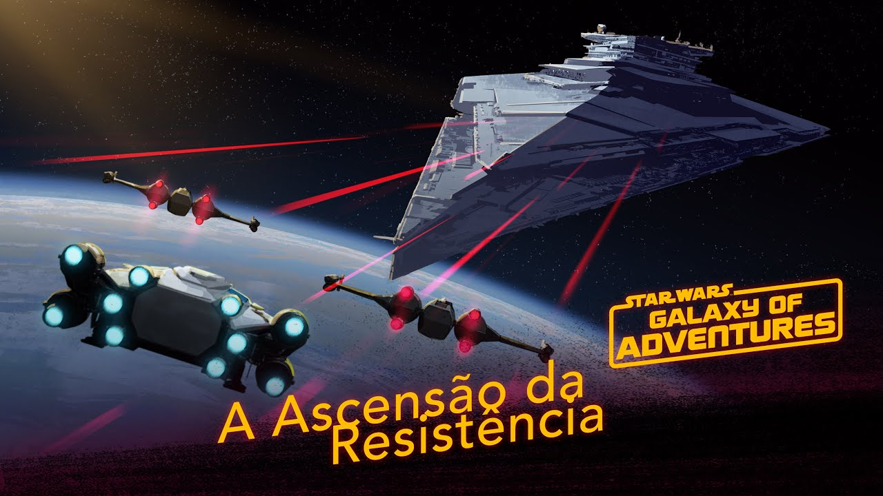 A Ascensão da Resistência | Star Wars Galaxy of Adventures