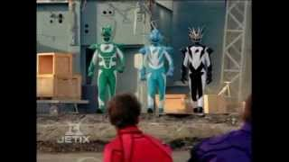 Power Rangers Jungle Fury - Fear and the Phantoms - The Spirit Rangers