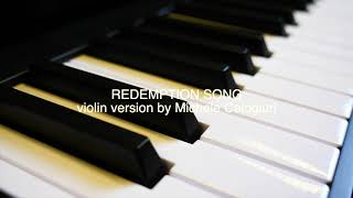 Redemption Song - violin cover by Michele Calogiuri