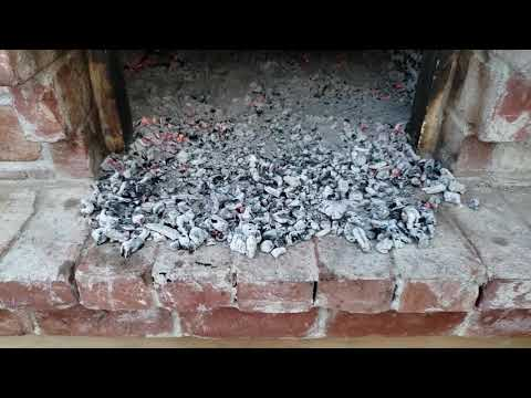 How to Clean your wood-fired oven.