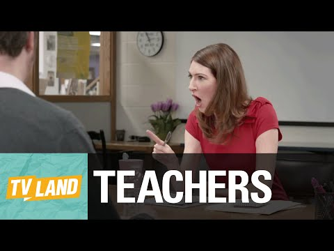 ParentTeacher Conference  Scared to Speak Up  Teachers on TV Land