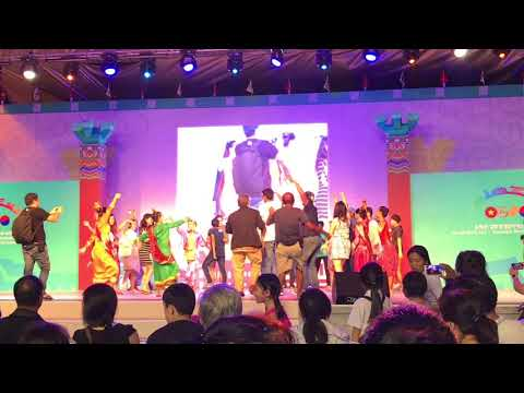 Ho Chi Minh city- Gyeongju world culture expo 2017 performance from Philippines