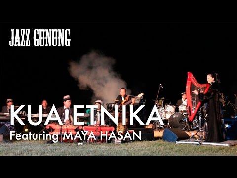 Kua Etnika feat. Maya Hasan - Rising Sun @ Jazz Gunung 2011