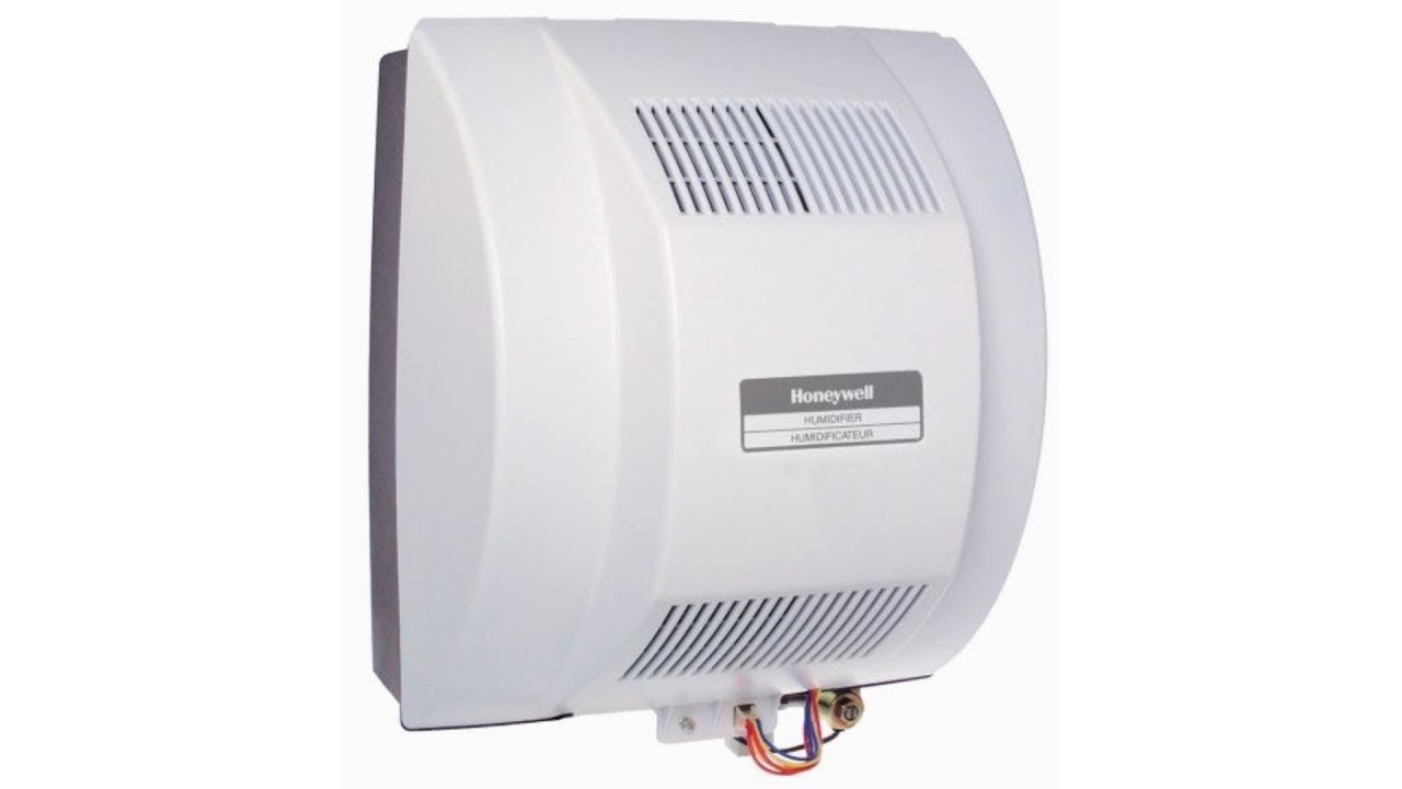 Honeywell Whole House Fan Powered Humidifier With