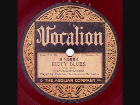 Fletcher Henderson & his Orchestra - Dicty Blues - 1923