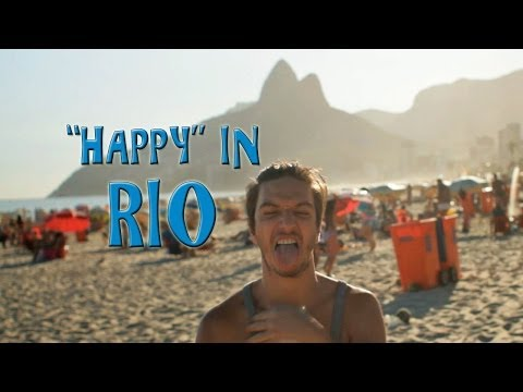 "Pharrell - ""Happy"" / We are Rio (#Jeitinho Carioca)"