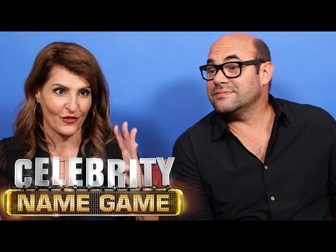Ian Gomez Plays With G.I. Joes - Celebrity Name Game