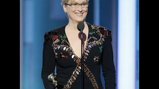 Meryl Streep's Golden Globes Speech Was A Tribute To Immigrants Everywhere