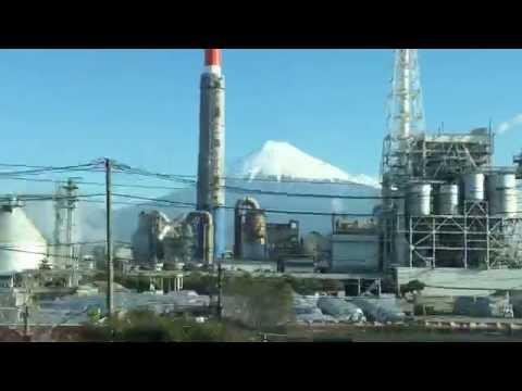 El Monte Fuji desde el Tren Bala (Tokio a Kioto)