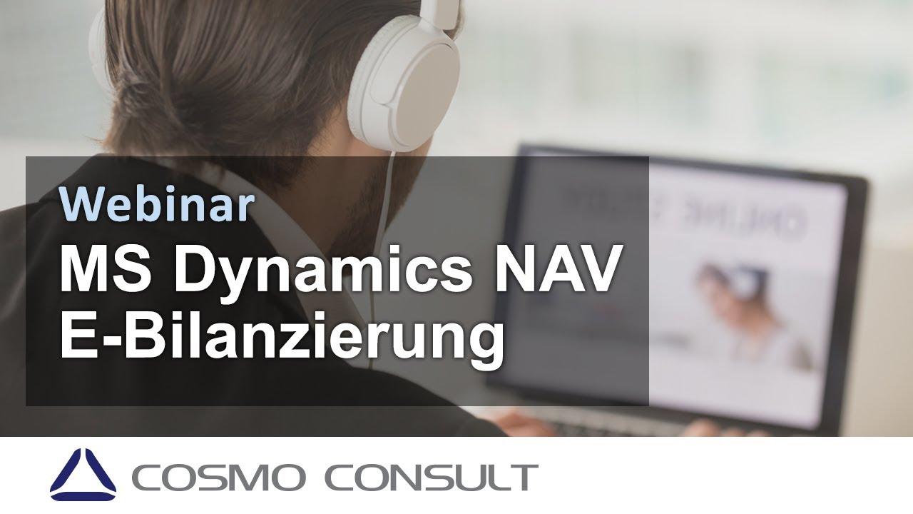 Webinar: E-Bilanzierung in Microsoft Dynamics NAV - YouTube