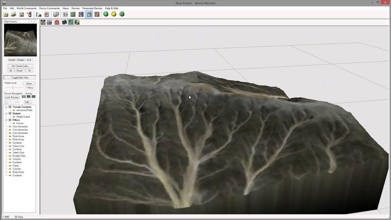 Creating Textures Combiners EWM YouTube - Color map generator