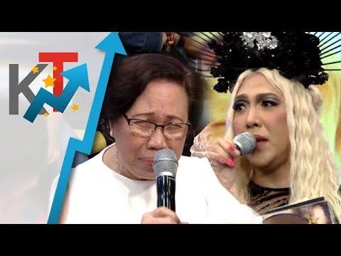 Nanay Rosario pinaiyak ni Vice Ganda :(