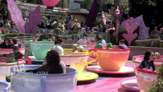 """Exclusive"" Nicole Richie Rides The Disneyland Teacups With Harlow"