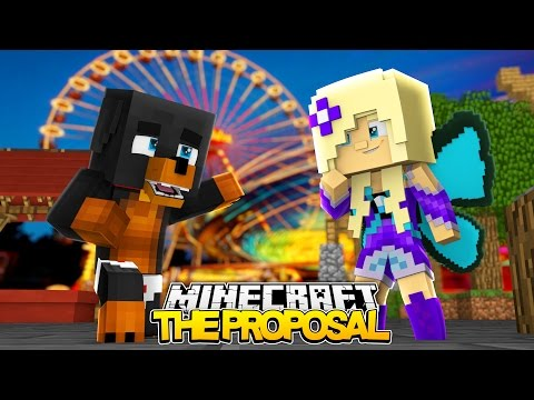 WILL YOU MARRY ME BABY ANGEL - Minecraft - Little Baby Max