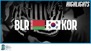 Belarus vs. Korea | Highlights | 2019 IIHF Ice Hockey World Championship Division I Group A
