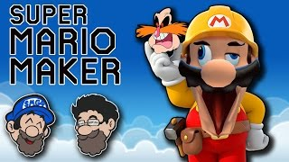 PINGAS and RAGE || Super Mario Maker || PART 1 ||HOBO BROS