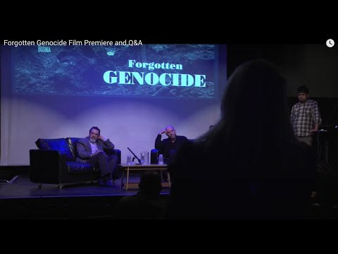 Forgotten Genocide   Film Premier and Q&A