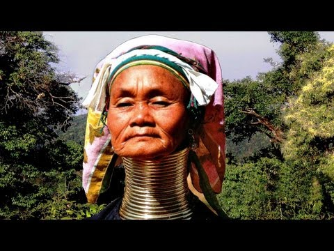 BURMA, Inlesee (2); SHAN Staat u. Padaung Volk