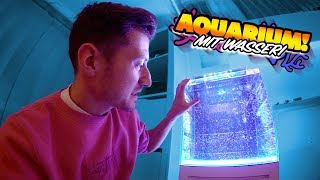 Das Meerwasser Aquarium läuft!
