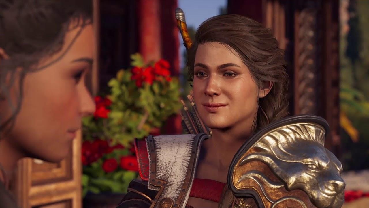 Assassin S Creed Odyssey Kassandra Kyra Romance Youtube