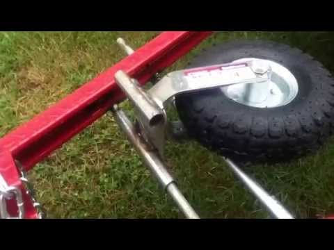 Harbor freight trailer dolly modification hf 69898 doovi for Outboard motor dolly harbor freight