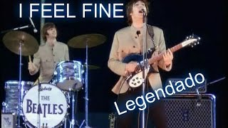 The Beatles - I Feel Fine - Shea Stadium (Legendado PT/BR)