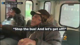 Passengers Stuck On Dollar Van During High-Speed Chase