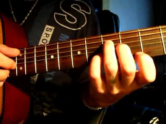 Как играть на гитаре аккорд Em