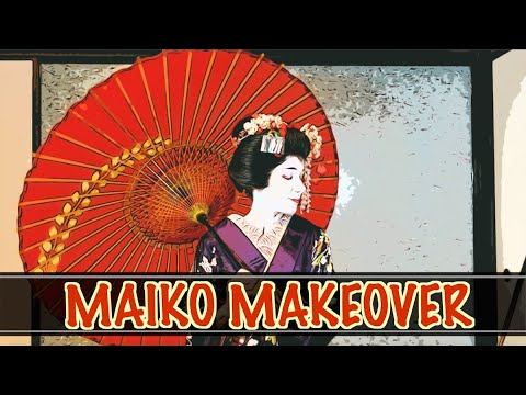 Maiko Makeover By A Geisha In Kyoto, Japan! // Stuart's Bucket List