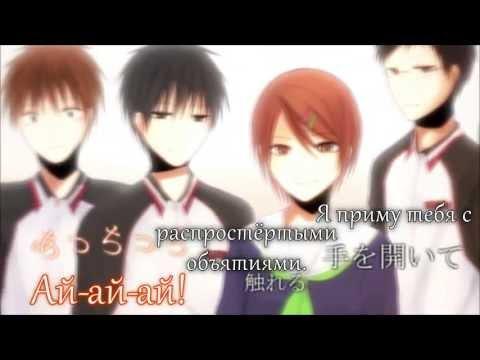 Hatsune Miku (Soraru) - Hitorinbo Envy Kuroko Ver. (rus Sub)