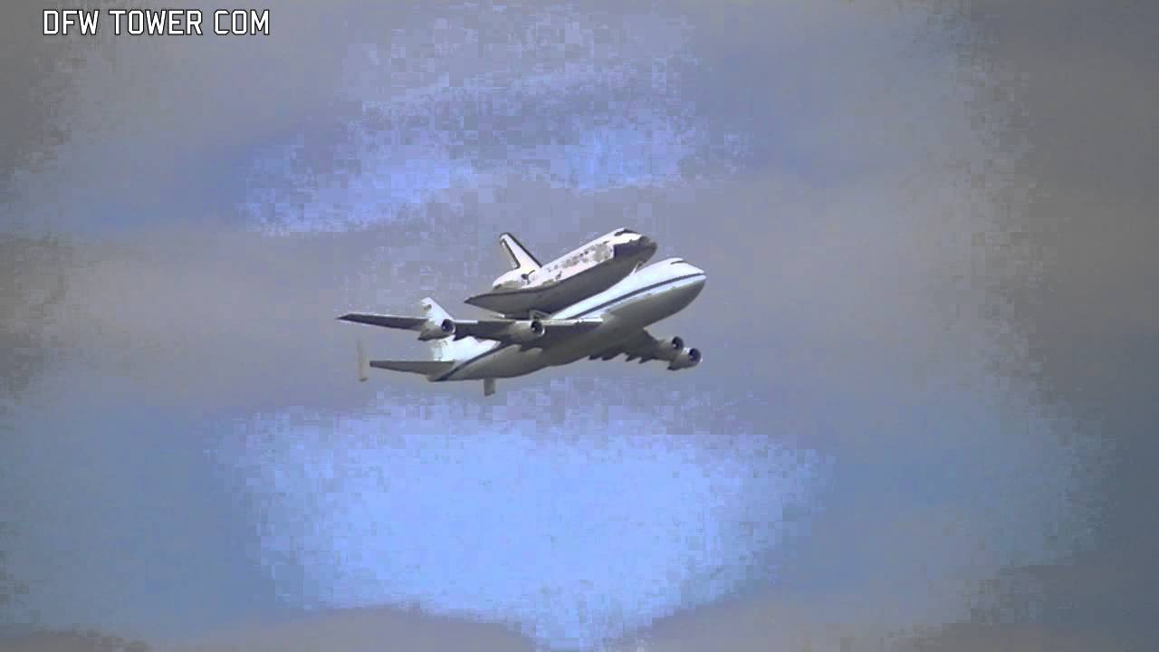 Space Shuttle Discovery Retirement Flight in Washington, D ...