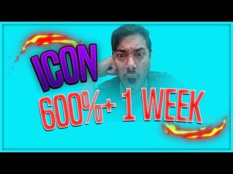 60X!! ICON ROCKS THE BLOCKCHAIN IN WEEK 1!!!