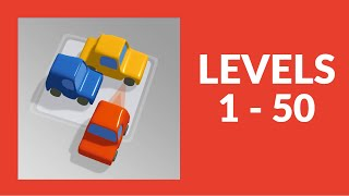 Parking Jam 3D Game Walkthrough Level 1-50