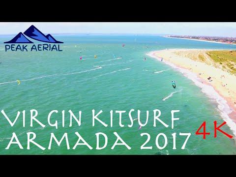 Virgin Kitesurfing Armada 2017 @ Hayling Island (4K)