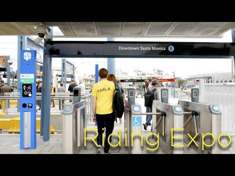 Riding the Expo Line: Culver City to Santa Monica