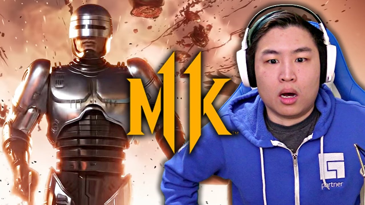 Mortal Kombat 11: Aftermath - Official Robocop, Fujin, & Sheeva Gameplay Trailer!! [REACTION]