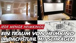 Sein Traum wird wahr - das Heimkino von Dirk | GROBI.TV | HEIMKINOBAU.DE