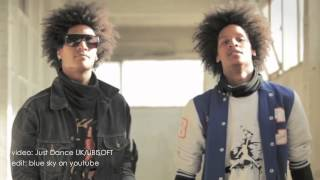 Les Twins, Just Dance 2 & Just Dance Now, 2010 & 2014