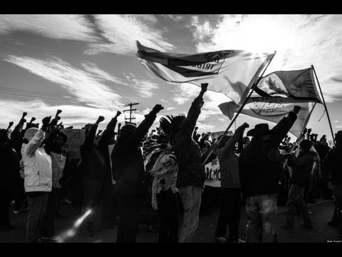 Idle No More Movie Video Footage Documentary Prote