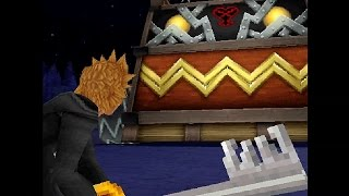 Kingdom Hearts 358/2 Days HD - All Boss Battles [No Damage] / Ending