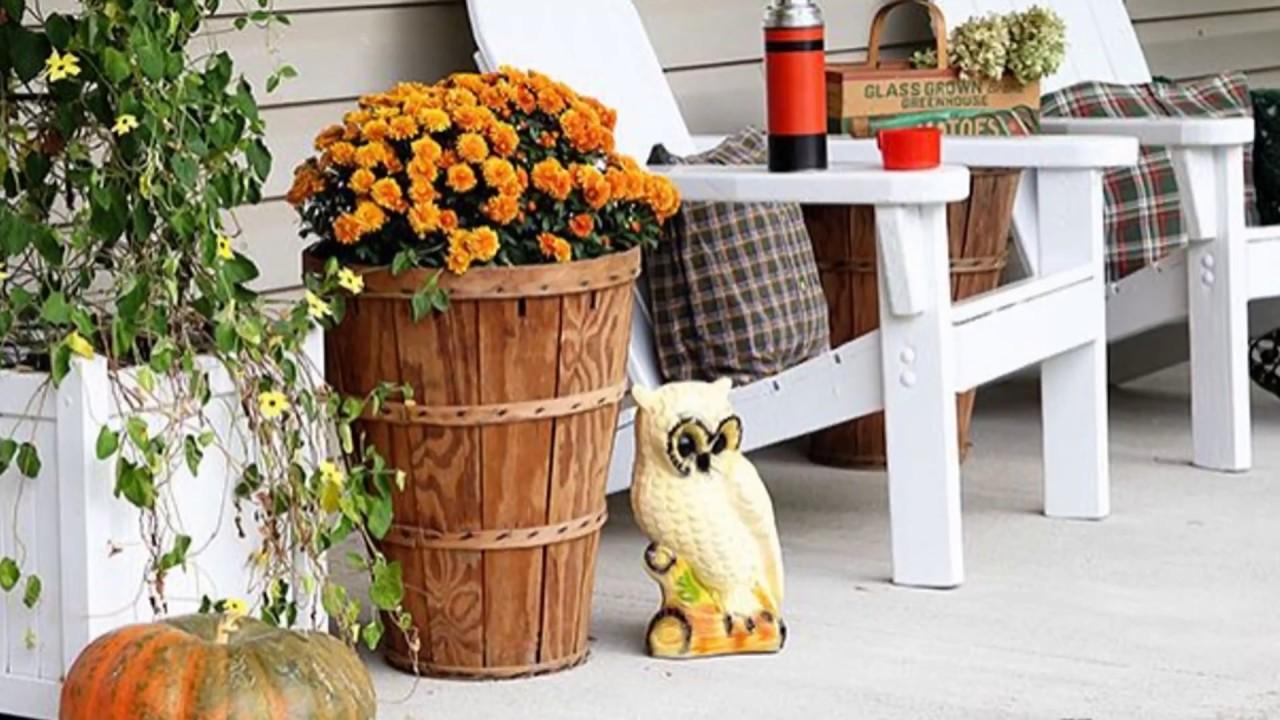 2017 Fall Porch Decorating Ideas