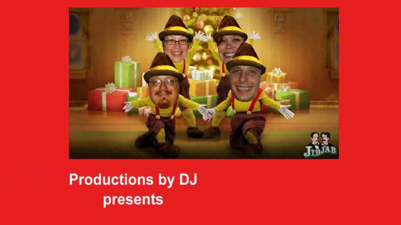 Rockin\' \'Round The Christmas Tree Jib Jab Style - YouTube