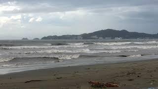 和歌山県 浜の宮海岸 2018 0904 台風21号 時刻17:00