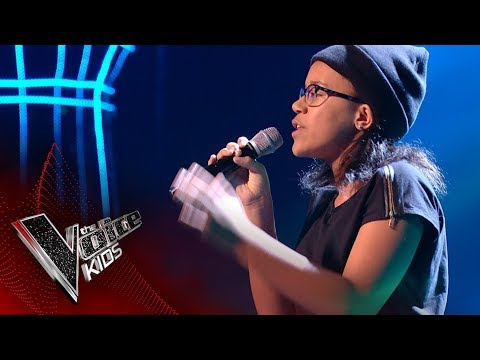 Zara performs 'Virtual Insanity': Blinds 3 | The Voice Kids UK 2017