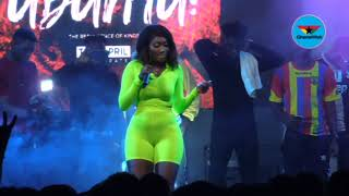 Wendy Shay thrills crowd at Commonwealth Artist Night