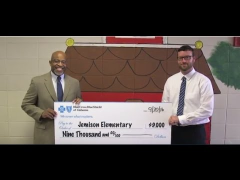 2017 Be Healthy School Grant Recipient: #Jemison Elementary School#