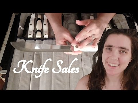 🔪ASMR Knife Sales Role Play🔪 (Cutco Knives) ☀365 Days of ASMR☀ 100th video!!!